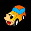 comic_yellow_car