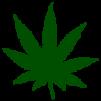 Cannabis Blatt